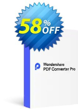 Wondershare PDF Converter Pro for Windows Coupon discount Back to School-30% OFF PDF editing tool - Wondershare PDFelement Pre-Christmas Sale