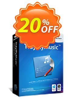Wondershare Tidymymusic Coupon discount 30% Wondershare Software (8799) -