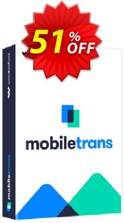 Wondershare MobileTrans for Mac One Year License Coupon, discount 30% Wondershare Software (8799). Promotion: 30% NVC-WONDERSHARE