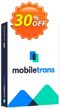 Wondershare MobileTrans - Business License  Coupon, discount MT 30% OFF. Promotion: 30% Wondershare Software (8799)