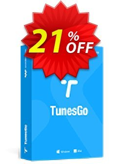 Wondershare TunesGo For iOS & Android Coupon, discount 30% Wondershare Software (8799). Promotion: 30% Wondershare Software (8799)