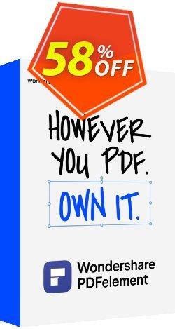 PDFelement Pro Bundle for Mac+iOS+Cloud Coupon, discount 58% OFF PDFelement Pro Bundle for Mac+iOS+Cloud, verified. Promotion: Wondrous discounts code of PDFelement Pro Bundle for Mac+iOS+Cloud, tested & approved