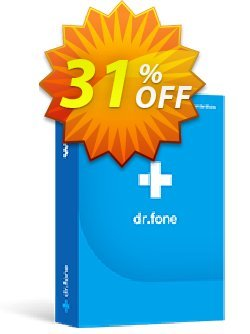dr.fone - Mac - iOS Toolkit Coupon, discount Dr.fone all site promotion-30% off. Promotion: 30% Wondershare Software (8799)