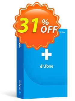 dr.fone - Full Toolkit Coupon, discount Dr.fone all site promotion-30% off. Promotion: 30% Wondershare Software (8799)