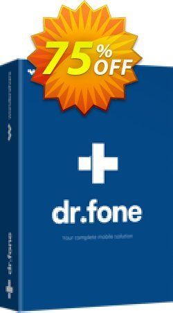 dr.fone - iOS Toolkit Coupon discount Dr.fone all site promotion-30% off