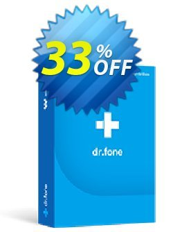 dr.fone - Phone Transfer - iOS & Android  Coupon, discount Dr.fone all site promotion-30% off. Promotion: 30% Wondershare Software (8799)