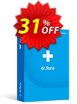 dr.fone - Mac -  Phone Transfer - iOS & Android  Coupon, discount Dr.fone all site promotion-30% off. Promotion: 30% Wondershare Software (8799)