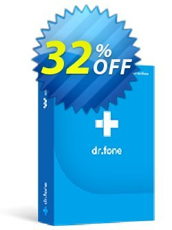 dr.fone - Mac - Backup & Restore - iOS  Coupon, discount Dr.fone all site promotion-30% off. Promotion: 30% Wondershare Software (8799)