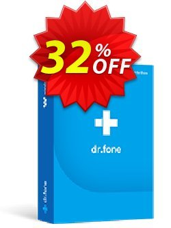 dr.fone - Mac - Erase - iOS  Coupon discount Dr.fone all site promotion-30% off - 30% Wondershare Software (8799)
