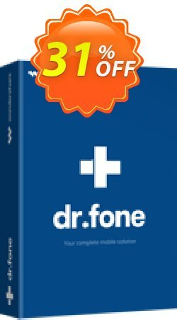 Wondershare Dr.Fone for iOS Coupon discount 30% Wondershare Software (8799). Promotion: Wondershare Dr.Fone for iOS Full Suite coupon