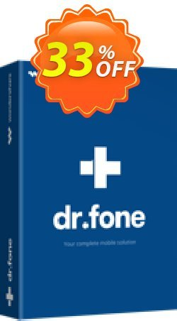 dr.fone - Backup & Restore - iOS  Coupon discount Dr.fone all site promotion-30% off - 30% Wondershare Software (8799)
