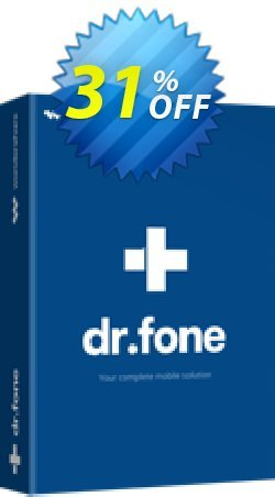 dr.fone - Mac - Recover - iOS  Coupon, discount Dr.fone all site promotion-30% off. Promotion: 30% Wondershare Software (8799)