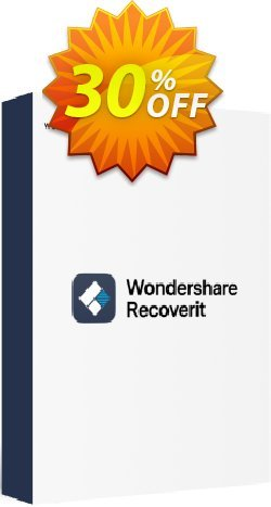 Recoverit Coupon discount Recoverit Pro (Win) imposing discounts code 2020 - 30% Wondershare Software (8799)