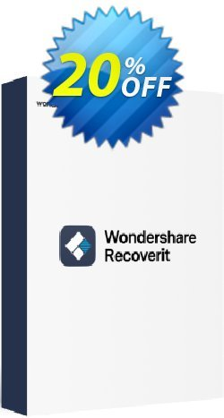 Wondershare Recoverit - 1 Year License  Coupon, discount 20% OFF Wondershare Recoverit (1 Year License), verified. Promotion: Wondrous discounts code of Wondershare Recoverit (1 Year License), tested & approved