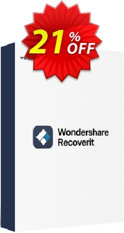 Wondershare Recoverit - 1 Month License  Coupon, discount 20% OFF Wondershare Recoverit (1 Month License), verified. Promotion: Wondrous discounts code of Wondershare Recoverit (1 Month License), tested & approved