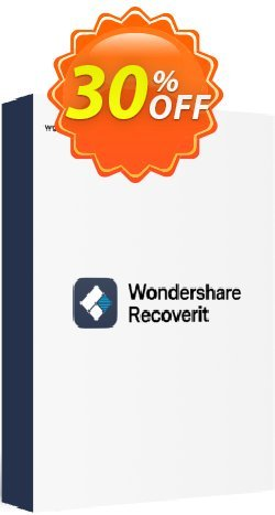 Recoverit STANDARD Coupon, discount Buy Recoverit PRO with 30% Wondershare Software discount. Promotion: 30% Wondershare Software (8799)