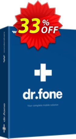 dr.fone - Restore Social App Coupon discount Dr.fone all site promotion-30% off