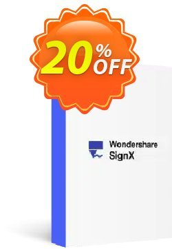 Wondershare SignX Coupon, discount 30% Wondershare Software (8799). Promotion: 30% Wondershare Software (8799)