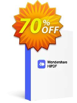 Hipdf Pro Coupon discount Winter Sale 30% Off For PDF Software. Promotion: 30% Wondershare Software (8799)