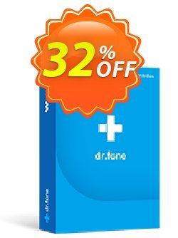 dr.fone - Restore Social App - Mac  Coupon, discount Dr.fone all site promotion-30% off. Promotion: 30% Wondershare Software (8799)
