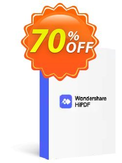 Wondershare HiPDF Pro Plus Coupon, discount 58% OFF Wondershare HiPDF Pro Plus, verified. Promotion: Wondrous discounts code of Wondershare HiPDF Pro Plus, tested & approved