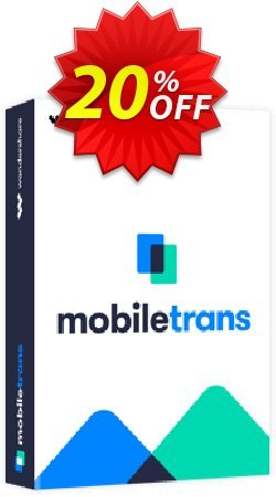 Wondershare MobileTrans for Mac - Business License  Coupon discount MT 30% OFF. Promotion: imposing promo code of Wondershare MobileTrans for Mac Business License 2020