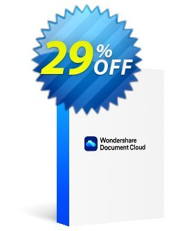 Wondershare Document Cloud Quarterly Coupon, discount 26% OFF Wondershare Document Cloud Quarterly, verified. Promotion: Wondrous discounts code of Wondershare Document Cloud Quarterly, tested & approved