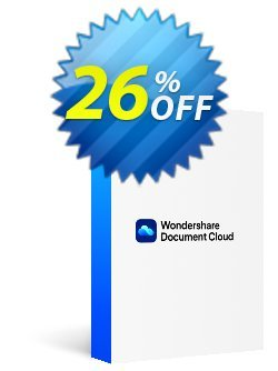 Wondershare Document Cloud Annually Coupon, discount 26% OFF Wondershare Document Cloud Annually, verified. Promotion: Wondrous discounts code of Wondershare Document Cloud Annually, tested & approved