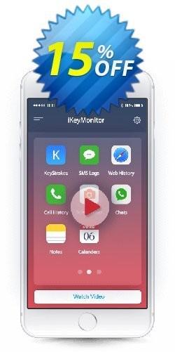 iKeyMonitor - Monthly License  Coupon, discount 15% OFF iKeyMonitor Monthly, verified. Promotion: Marvelous discounts code of iKeyMonitor Monthly, tested & approved