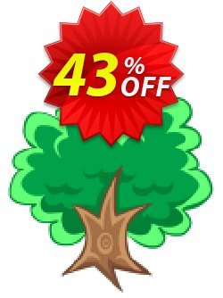 1Tree Pro Single License Coupon discount 40% OFF 1Tree Pro Single License, verified - Awesome offer code of 1Tree Pro Single License, tested & approved