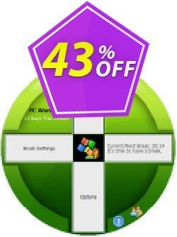 PC WorkBreak Single License Coupon discount 40% OFF PC WorkBreak Single License, verified - Awesome offer code of PC WorkBreak Single License, tested & approved