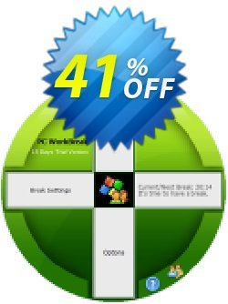 PC WorkBreak Personal License Coupon discount 40% OFF PC WorkBreak Personal License, verified. Promotion: Awesome offer code of PC WorkBreak Personal License, tested & approved