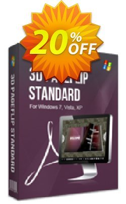 3DPageFlip Standard Coupon discount A-PDF Coupon (9891) - 20% IVS and A-PDF