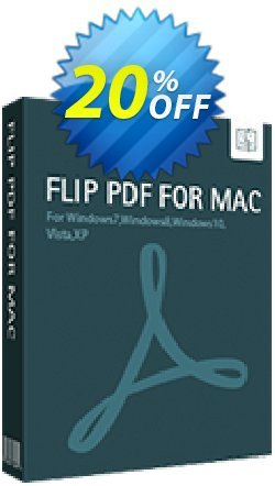 Flip PDF for Mac Coupon discount All Flip PDF for BDJ 67% off - Coupon promo IVS and A-PDF