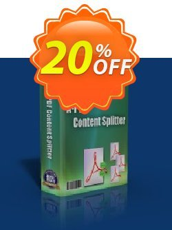 A-PDF Content Splitter Coupon, discount A-PDF Coupon (9891). Promotion: 20% IVS and A-PDF