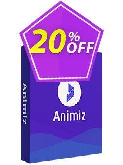 Animiz standard Coupon discount Animiz Coupon discount (9891). Promotion: 20% IVS and Animiz