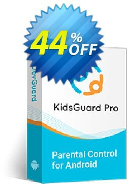 KidsGuard Pro for Android Coupon discount 43% OFF KidsGuard Pro for Android (3-Month Plan), verified. Promotion: Dreaded promo code of KidsGuard Pro for Android (3-Month Plan), tested & approved
