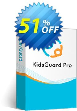 KidsGuard Pro for iOS Coupon discount 51% OFF KidsGuard Pro for iOS (1-year plan), verified - Dreaded promo code of KidsGuard Pro for iOS (1-year plan), tested & approved