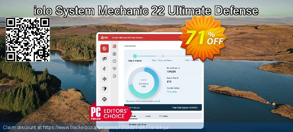 Get 60% OFF System Mechanic Ultimate Defense offer