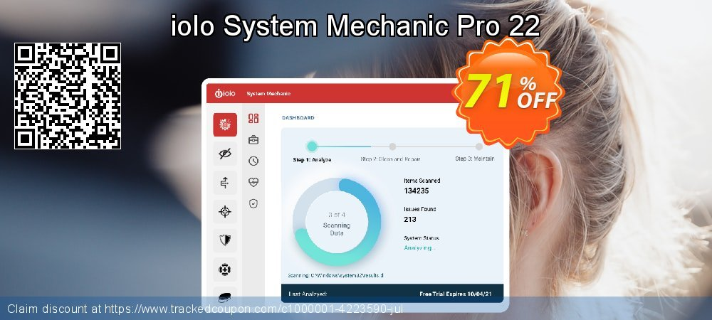 iolo System Mechanic Pro coupon on Mom Day discount
