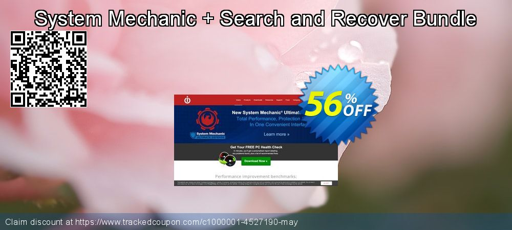 System Mechanic + Search and Recover Bundle coupon on Exclusive Teacher discount sales