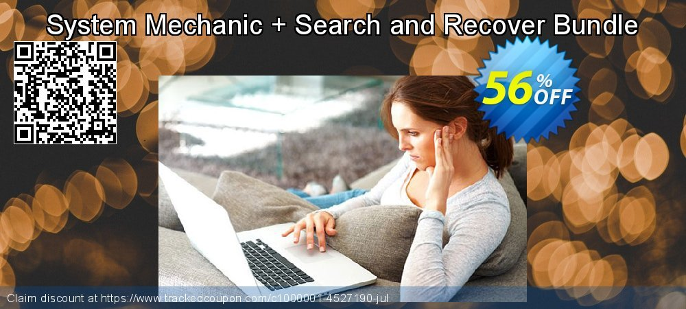 System Mechanic + Search and Recover Bundle coupon on Mom Day super sale
