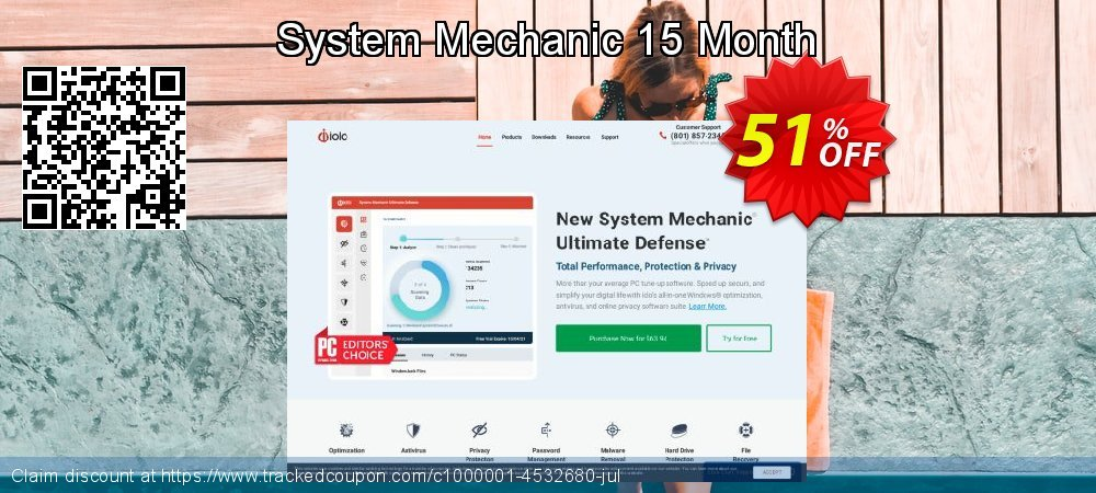 System Mechanic 15 Month coupon on Exclusive Student discount sales