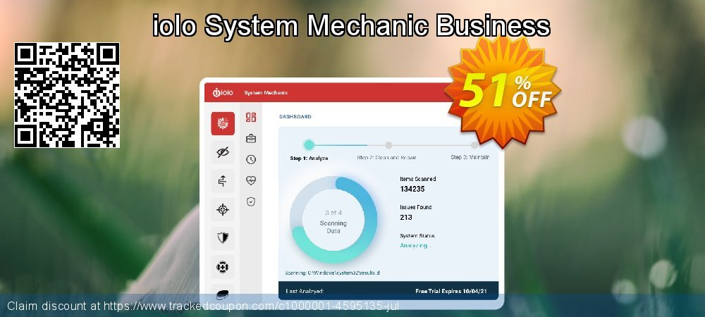 iolo System Mechanic Business coupon on Mothers Day deals