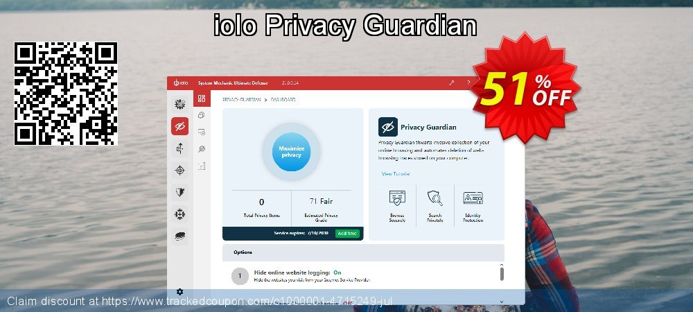 Privacy Guardian coupon