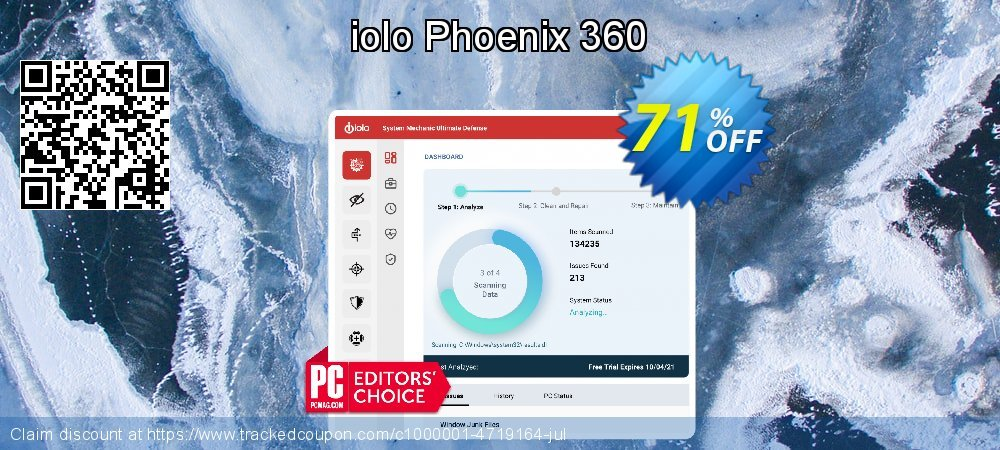 iolo Phoenix 360 coupon on Summer offer