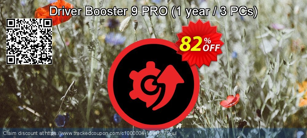 Driver Booster 8 PRO - 1 year / 3 PC  coupon on April Fool's Day sales
