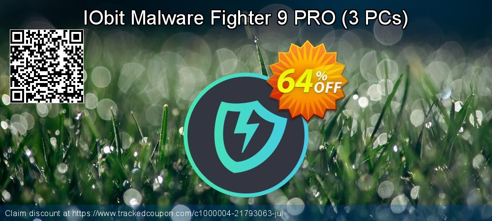 IObit Malware Fighter 7 PRO (3 PCs / 1 Year Subscription) coupon on Int. Workers' Day discount