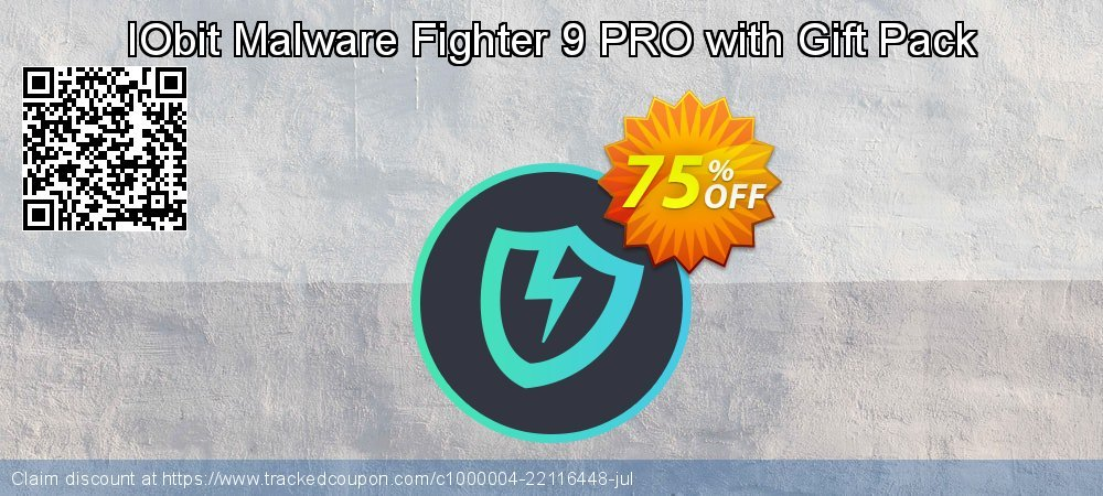 IObit Malware Fighter 7 PRO with Gift Pack coupon on May Day sales