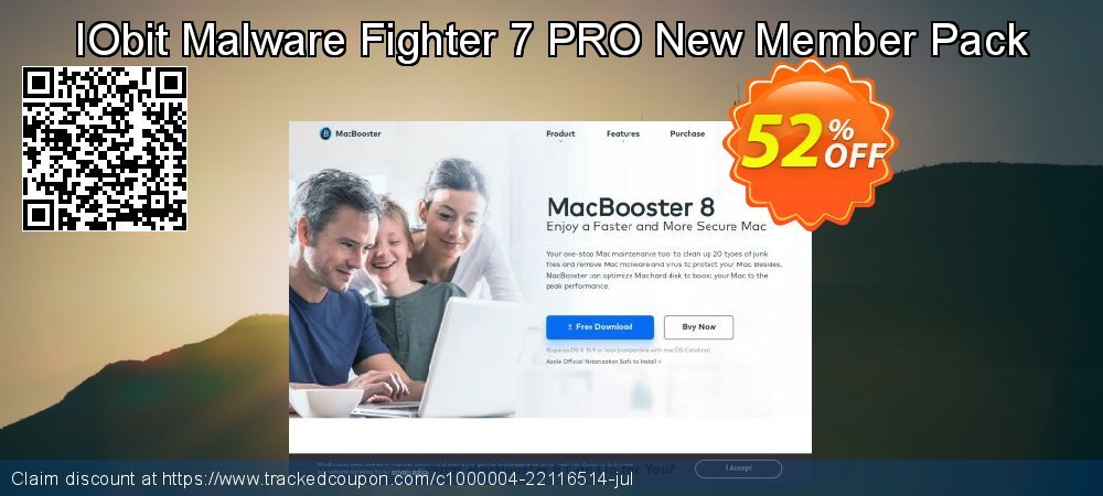 IObit Malware Fighter 7 PRO New Member Pack coupon on Back-to-School event super sale